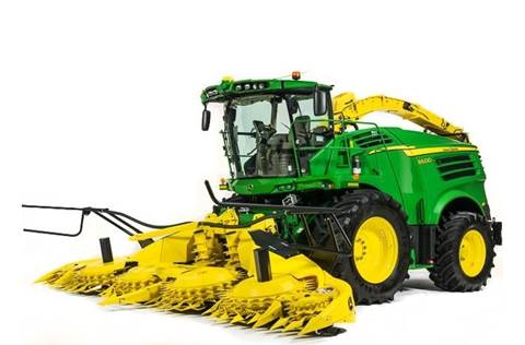 2017 8600 Self-Propelled Forage Harvester