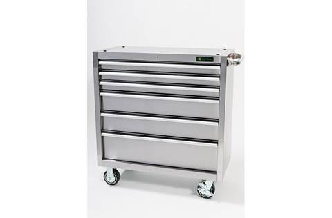 2017 AC-3618CB-SS 36-in., 6-Drawer Stainless Steel Cabinet