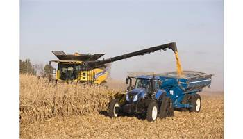 2017 CR Series – Tier 4B Twin Rotor® Combines CR10.90 Elevation