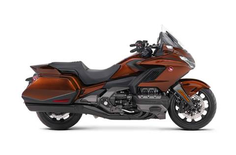 2018 Gold Wing DCT - Pearl Stallion Brown