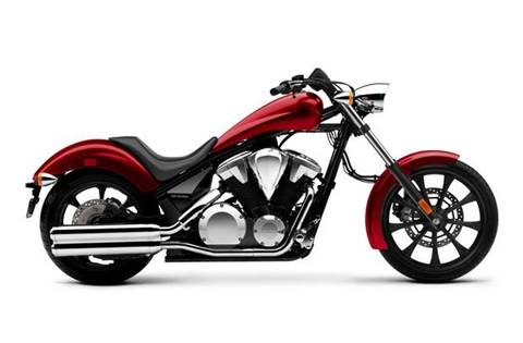 2018 Fury ABS Red Honda Motorcycles