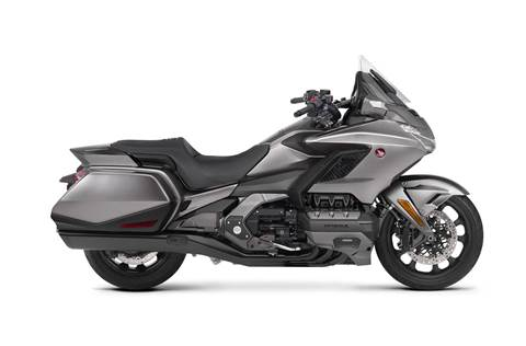 2018 Gold Wing - Matte Majestic Silver