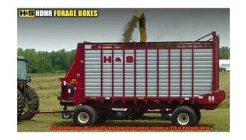 2017 22' HDNR Forage Box