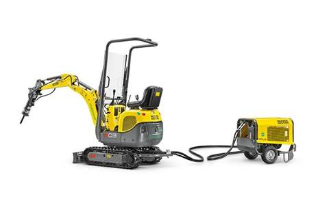 2017 803 excavator with dual power option