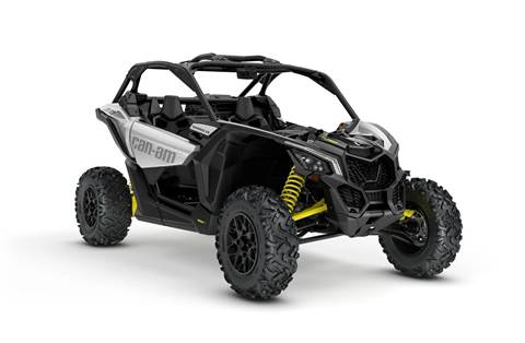 2018 Maverick™ X3 Turbo - Hyper Silver & Yellow