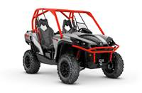 2018 Can-Am Commander™ XT™ 1000R Brushed Aluminum & Can-Am Red