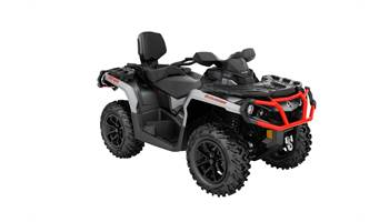 2018 OUTLANDER MAX 1000R-Brushed Aluminum & Can Am Red