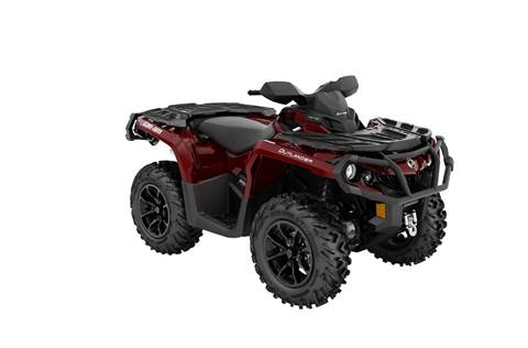 2018 Outlander™ XT™ 850 - Brushed Aluminum & Can-Am Red
