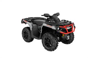 Outlander™ XT™ 1000R - Aluminum & Can-Am Red