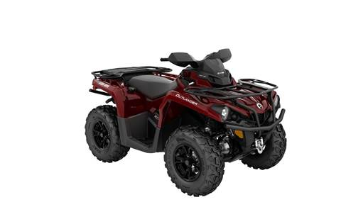 2018 Outlander™ XT 570 - Intense Red