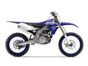 Stock Image: Team Yamaha Blue