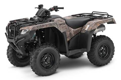 2018 FourTrax Rancher 4x4 Auto DCT IRS - Camo