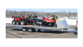2017 22' Versa-Max Ramp - Tandem Axle, Brakes on 2 Axle