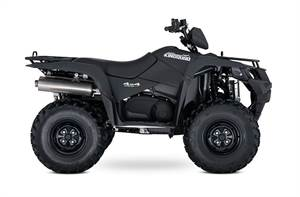KingQuad 500AXi Power Steering Matte Black