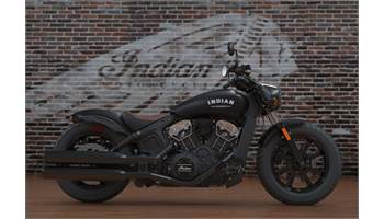 2018 Indian® Scout® Bobber ABS - Thunder Black Smoke