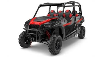 2018 Polaris GENERAL™ 4 1000 EPS - Black Pearl