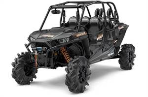 RZR XP® 4 1000 EPS High Lifter Edition - Stealth Black