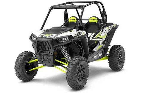 2018 RZR XP® 1000 EPS - White Lightning