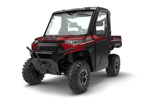 2018 RANGER XP® 1000 EPS NorthStar HVAC Edition - Sunset Red Metallic