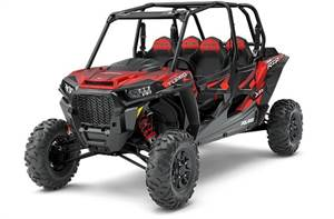 RZR XP® 4 Turbo EPS FOX Edition - Matte Sunset Red