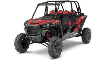 2018 RZR XP® 4 Turbo EPS FOX Edition - Matte Sunset Red