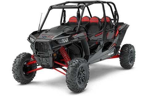 2018 RZR XP® 4 1000 EPS Ride Command Edition - Black Pearl