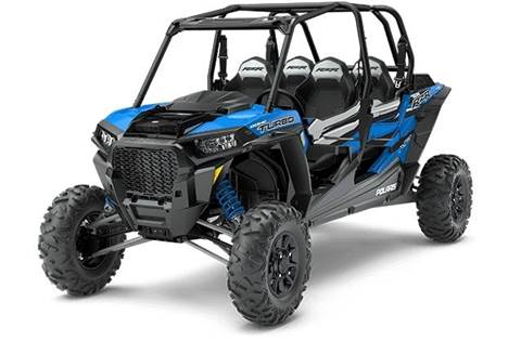 2018 RZR XP® 4 Turbo EPS - Velocity Blue