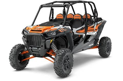 2018 RZR XP® 4 Turbo EPS - Ghost Gray