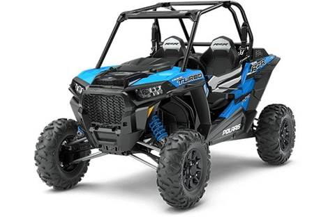 2018 RZR XP® Turbo EPS - Velocity Blue