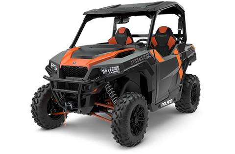 2018 Polaris GENERAL™ 1000 EPS Deluxe - Titanium Metallic
