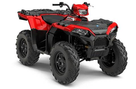 2018 Sportsman® 850 - Indy Red