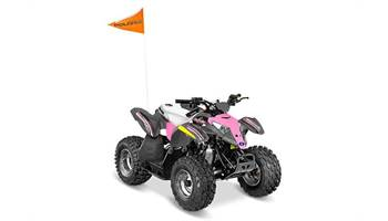 2018 Outlaw® 50 - Avalanche Grey/Pink Power