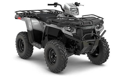 2018 Sportsman® 450 H.O. Utility Edition - Ghost Gray