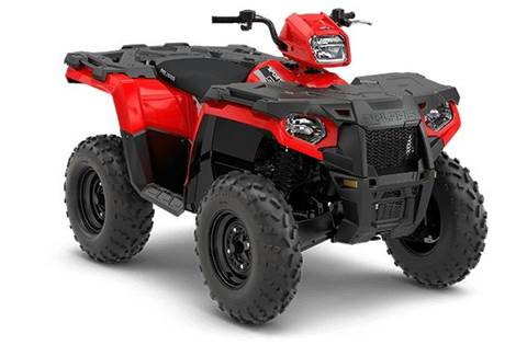2018 Sportsman® 570 EPS - Indy Red