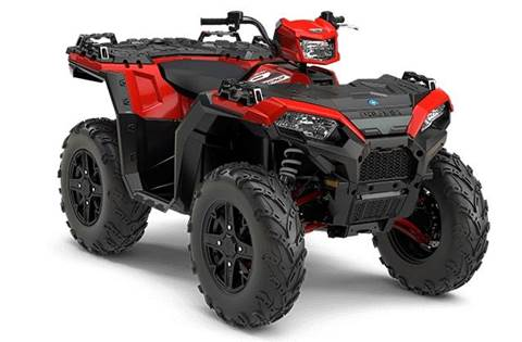 2018 Sportsman® XP 1000 - Havasu Red Pearl