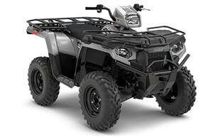 Sportsman® 450 H.O. Utility Edition - Ghost Gray