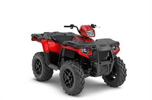 SPORTSMAN 570 SP SUNSET RED