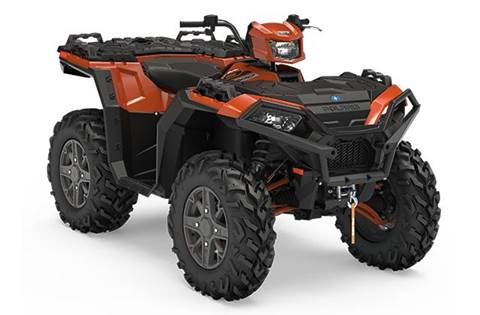 2018 Sportsman® XP 1000 - Lava Orange Metallic LE