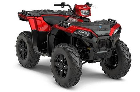 2018 Sportsman® 850 SP - Sunset Red