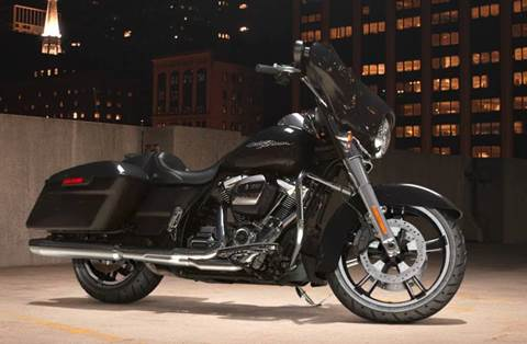 2018 Street Glide® - Vivid Black Option