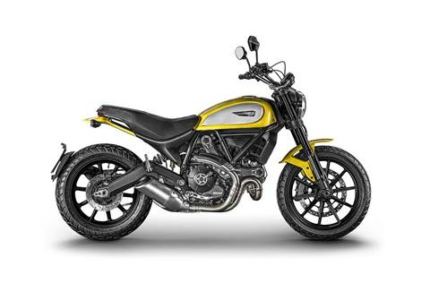 2018 Scrambler Icon - '62 Yellow