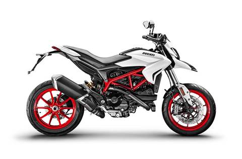 2018 Hypermotard 939 - Star White Silk