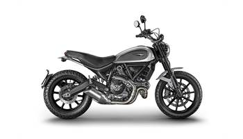 2018 Scrambler Icon - Silver Ice