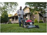 Stock Image: HRR216VKA lawn mower