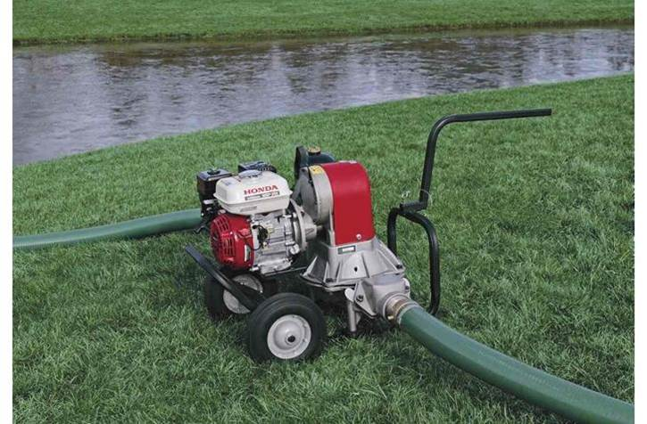 Honda commercial construction pump