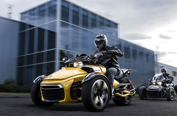 Can-Am Sport Cruising 3 Wheel Motorcycles for Sale