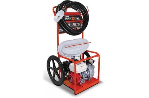 2018 FP2126 Portable Fire Cart - 2 Inch