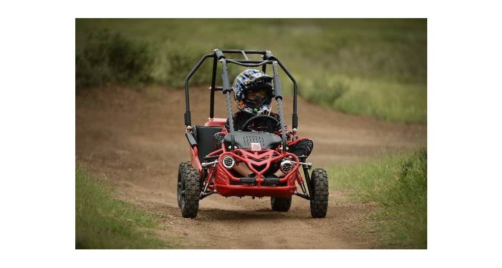 HH Torpedo go-kart for ages 6 and up.