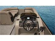 Stock Image: Helm with Simrad GO5