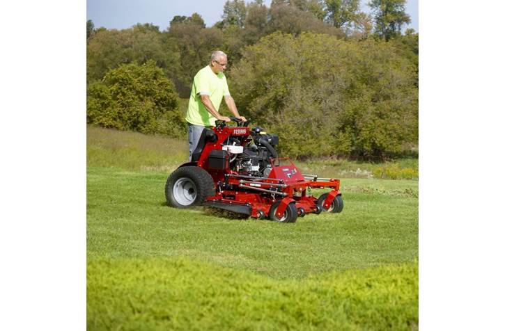 Commercial Stan On Mower